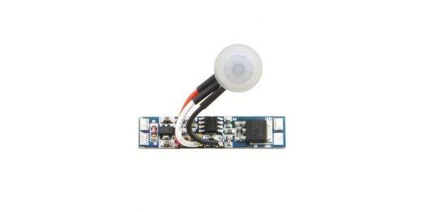 Interruptor-Sensor de proximidad para instalar en los perfiles aluminio. 12-24VDC
