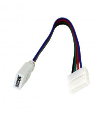 Conector prolongador RGB Hembra 15cm