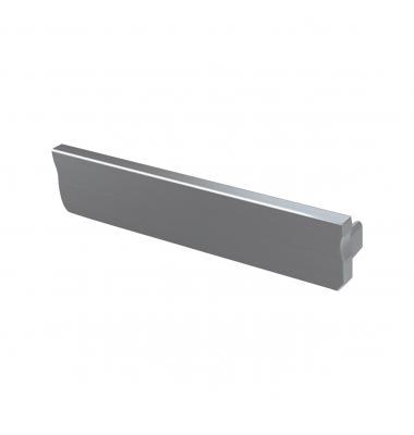 Tapas laterales de cierre. Perfil Sueke. Sin agujero. Gris, Blanco, Negro y Cuero