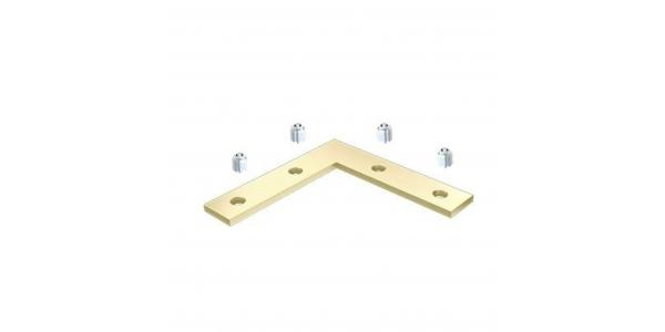 Conector Para unir perfiles en ángulo 90º. Perfiles Aluminio Neu y Chic