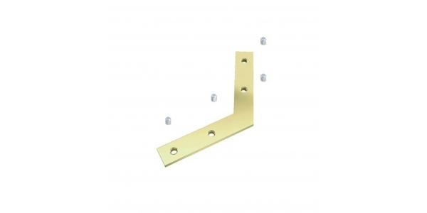 Conector Para unir perfiles en ángulo 120º. Perfiles Aluminio Neu y Chic