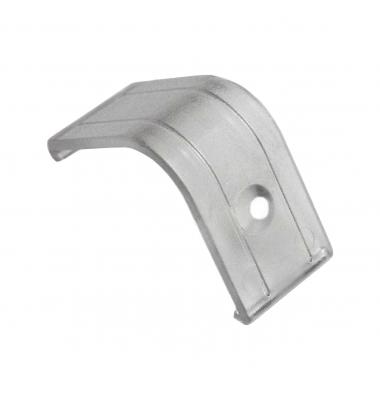 Soporte Perfil Aluminio Policarbonato Transparente Lupa