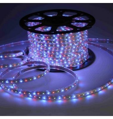 Tira RGB 14.4W 220VAC. Flexible. 1 metro (60LEDs/m) SMD5050