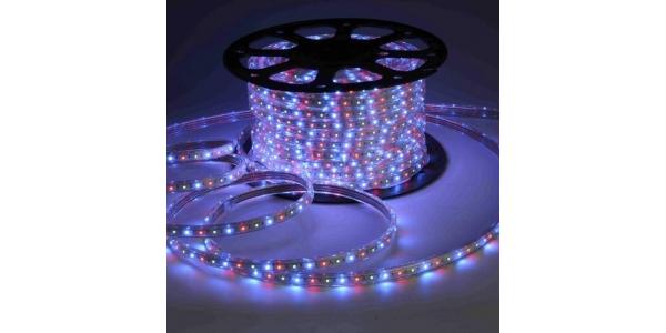Tira LED 14.4W/m RGB 220VAC Flexible (60LEDs/m) SMD5050