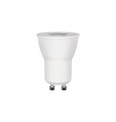 Bombilla LED MR11 GU10- 220V. 3W. 270 Lm. Blanco Frío. Ángulo 38º