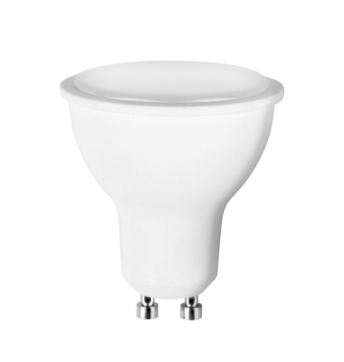 Bombilla LED GU10 6W. 480 Lm. Blanco Cálido de 3000k. Ángulo 120º