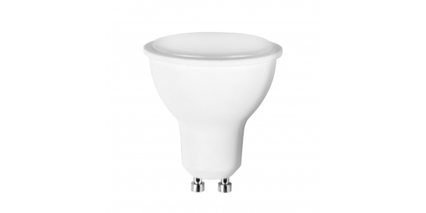 Bombilla LED GU10 6W. 480 Lm. Blanco Natural. Ángulo 120º