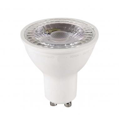 Bombilla LED GU10 Regulable 8W. Ángulo 60º. Blanco Cálido