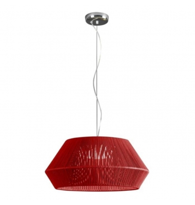 Lámpara de Suspensión BANYO de la marca Olé by FM. 2*27. Diámetro 530mm
