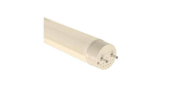 Tubo LED T8 Pan y Repostería 120cm Cristal 18W-1440 lm. Blanco Cálido de 2700k. Ángulo 330º. LED Epistar