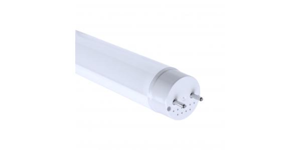 Tubo LED T8 Pescadería 120cm Cristal 18W-1800 lm. Ángulo 330º. LED Epistar