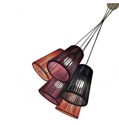 Lámpara de Suspensión BOUQUET de la marca Olé by FM. 4*E27. Diámetro 360mm