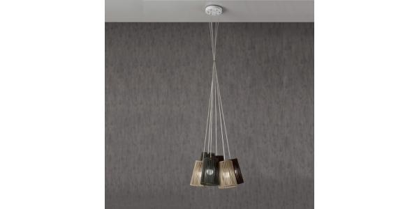 Lámpara de Suspensión Bouquet. Diámetro 540mm. 6*E27