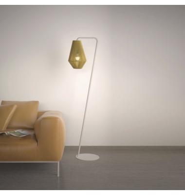 Lámpara de Pie Interior Ukelele de la marca Olé by FM. Diámetro 350mm. 1*27