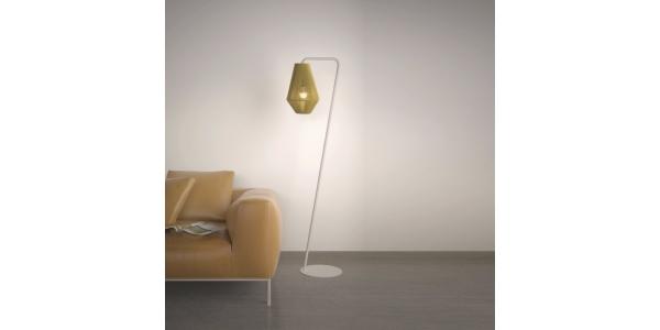 Lámpara de Pie Interior Ukelele. Diámetro 350mm 1*27