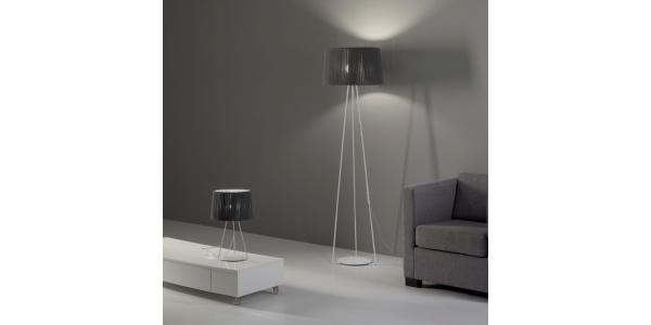 Lámpara de Pie Interior Drum. Diámetro 500mm 1*27