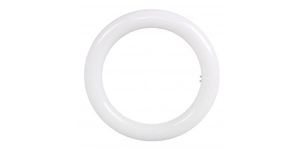 Tubo LED Redondo T9 32W - 2400 Lm . Ángulo 180º. Diámetro 40 cm. Blanco Frío.