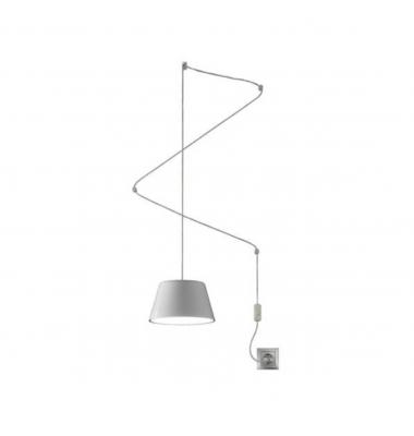 Lámpara de Suspensión SENTO de la marca Olé by FM. 1*GU10. 150*220mm Blanco
