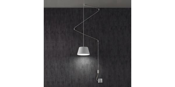 Lámpara de Suspensión Sento. 150*220mm. Bombilla LED GU10.