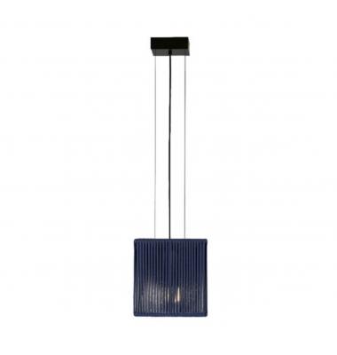 Lámpara de Suspensión BASS de la marca Olé by FM. 1*E27. 200*200mm