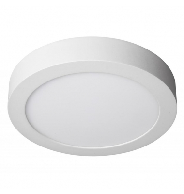 Plafón LED 12W Superficie Bid. 880 Lm. Ángulo 120. Blanco Cálido