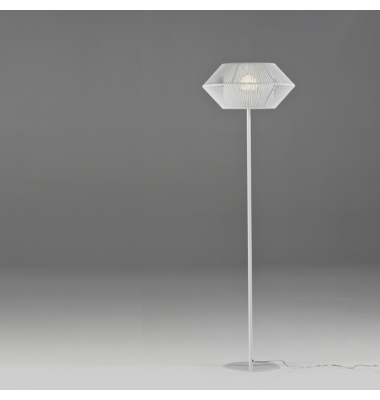 Lámpara de Pie Interior Ukelele de la marca Olé by FM. Diámetro 300mm. 1*27