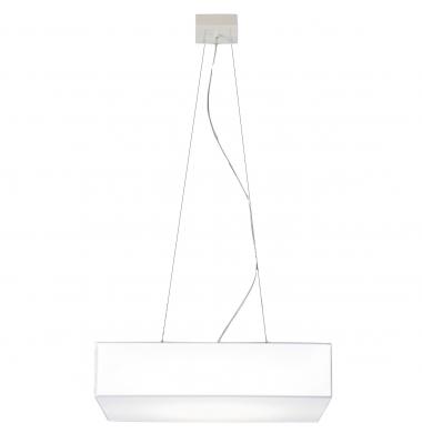 Lámpara de Suspensión BLOCK de la marca Olé by FM. 800*800mm. 4*E27