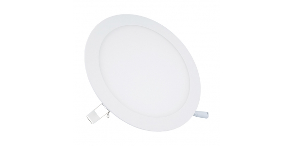 Downlight LED panel Blanco 12W - 850Lm Bid. Blanco Cálido Ángulo 120º