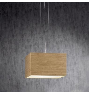 Lámpara de Suspensión KUBE de la marca Olé by FM. 400*400mm. 2*E27
