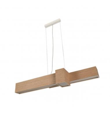 Lámpara de suspensión KUBE de la marca Olé by FM. LED 20W. 1000*235mm.