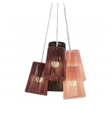 Lámpara de Suspensión BOUQUET de la marca Olé by FM. Diámetro 540mm. 6*E27