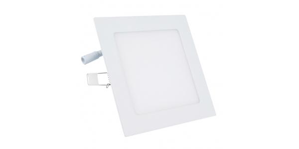 Downlight LED Square Blanco 18W - 1520 Lm. Blanco Natural. Ángulo 120º