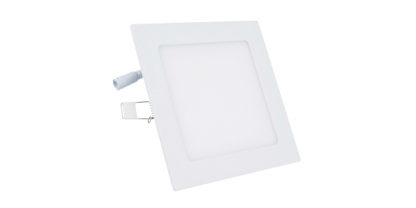 Downlight LED Square 12W - 850Lm. Blanco Natural. Ángulo 120º