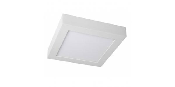 Plafón Techo LED Square 12W - 850 Lm. Blanco Cálido. Ángulo 120º