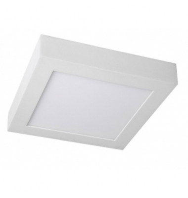 Plafón Techo LED Square 12W - 850 Lm. Blanco Natural. Ángulo 120º
