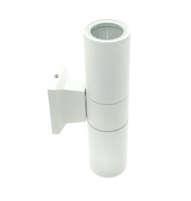 Aplique Pared Exterior e Interior Blanco. 2*GU10