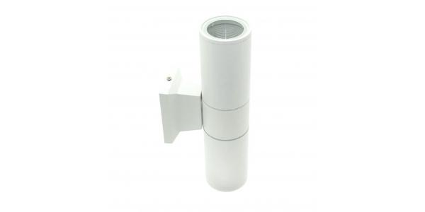 Aplique Pared Exterior e Interior Blanco. 2*GU10
