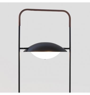 Lámpara de Pie Interior WONG de la marca Aromas. 500*1450mm. 3*G9.