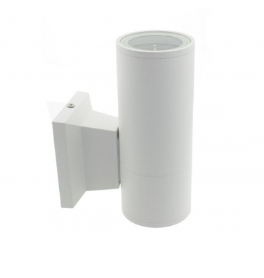 Aplique Pared Exterior e Interior Blanco. 1*GU10. IP54