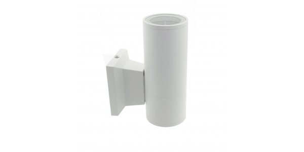 Aplique Pared Exterior e Interior Blanco. 1*GU10. IP54