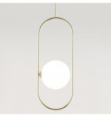 Lámpara de Suspensión ABBACUS de la marca Aromas. 1*G9. 2700K. 3000*252mm