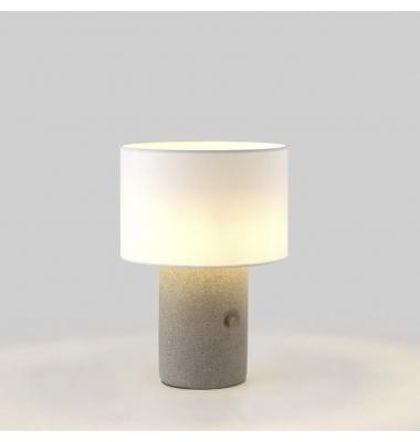 Lámpara de sobremesa SAND de la marca Aromas. 1*E27. 470*350mm