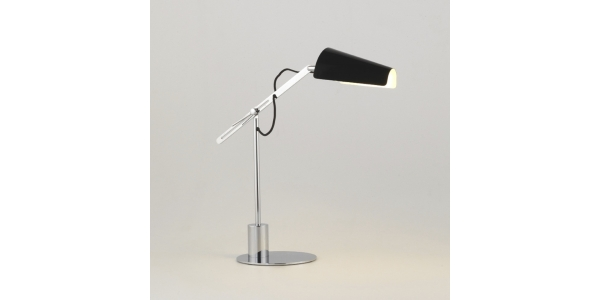 Lámpara de sobremesa PAU de la marca Aromas. 1*E27. Diámetro 160mm