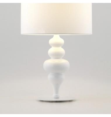 Lámpara de sobremesa TORNO de la marca Aromas. 1*E27. Diámetro 220mm