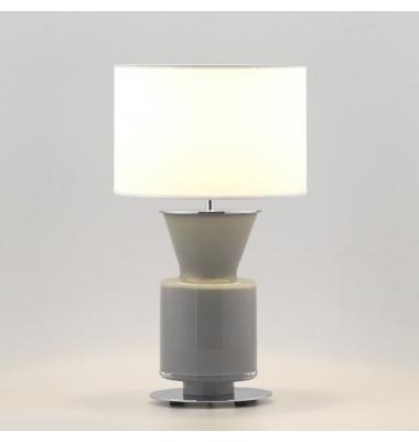Lámpara de sobremesa PONN de la marca Aromas. 1*E27. Diámetro 190mm