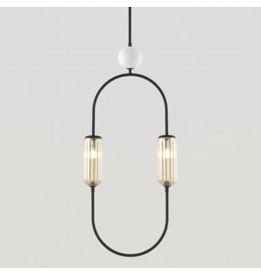 Lámpara de Suspensión CLIP de la marca Aromas. 2*G9. 1800*400mm