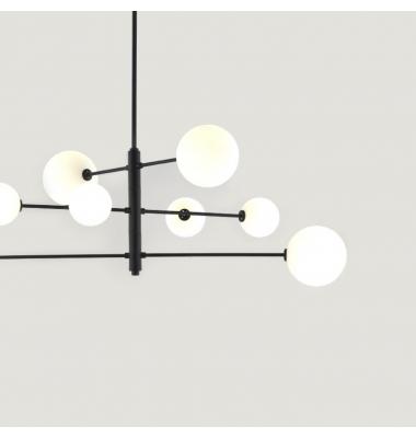 Lámpara de Suspensión ATOM de la marca Aromas. 2700K. 8*G9. 1570*1400mm