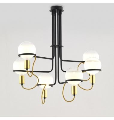 Lámpara de Suspensión GHOST de la marca Aromas. Diámetro 868mm