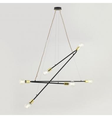 Lámpara de Suspensión RENDO de la marca Aromas. 6*E27. 1500*1490mm