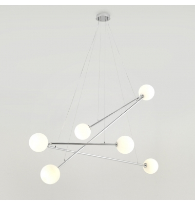 Lámpara de Suspensión ENDO de la marca Aromas. 6*G9. 1500*1453mm